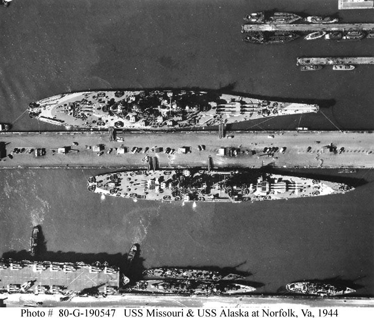 USS Alaska CB-1 de Hobby Boss 1/350ème 01638310