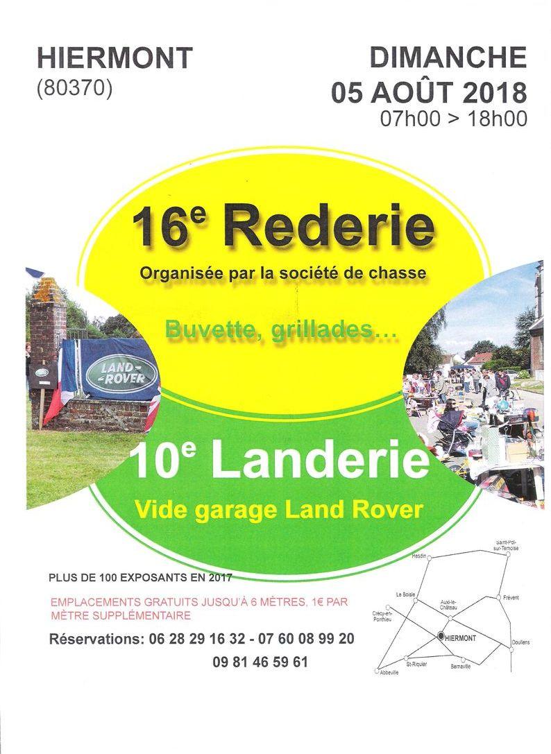 2018 08 05 10ème Landerie de Hiermont Affich14