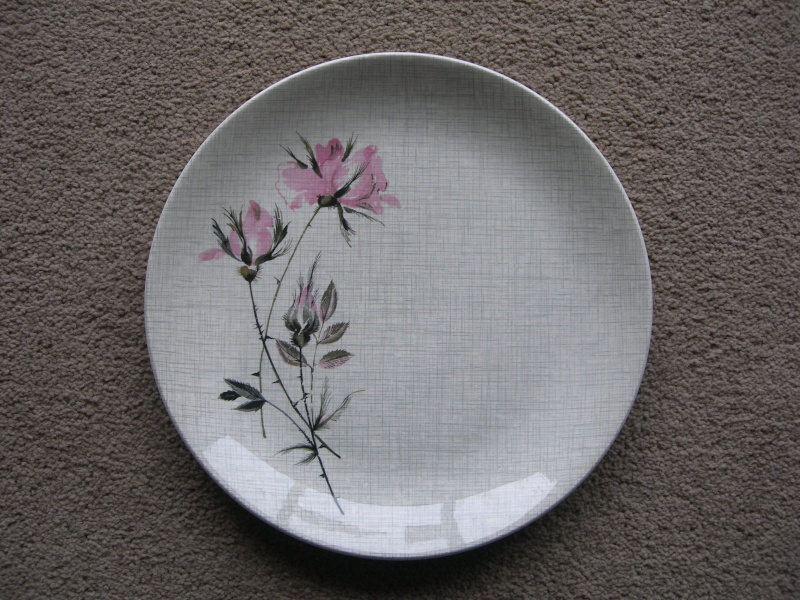 Crown Lynn Tableware pattern Sonata Pat.No.814 03610