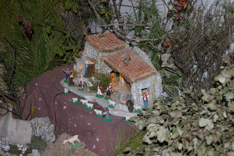 La crèche de Christine et Pascal 2010 Creche26