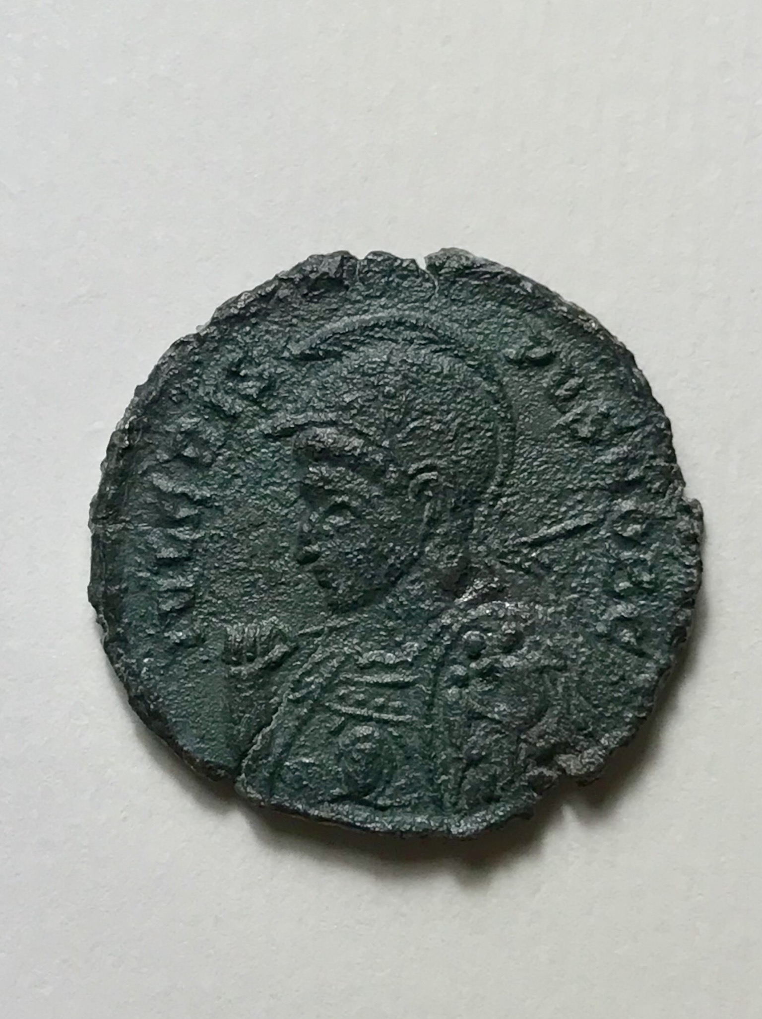 Cripsus BEATA TRANQVILLITAS avec bouclier décoré 8e928310