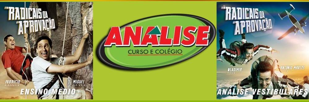 PRÉ- VESTIBULAR ANÁLISE 2011