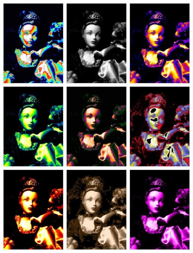 Gene en pop art Popart10