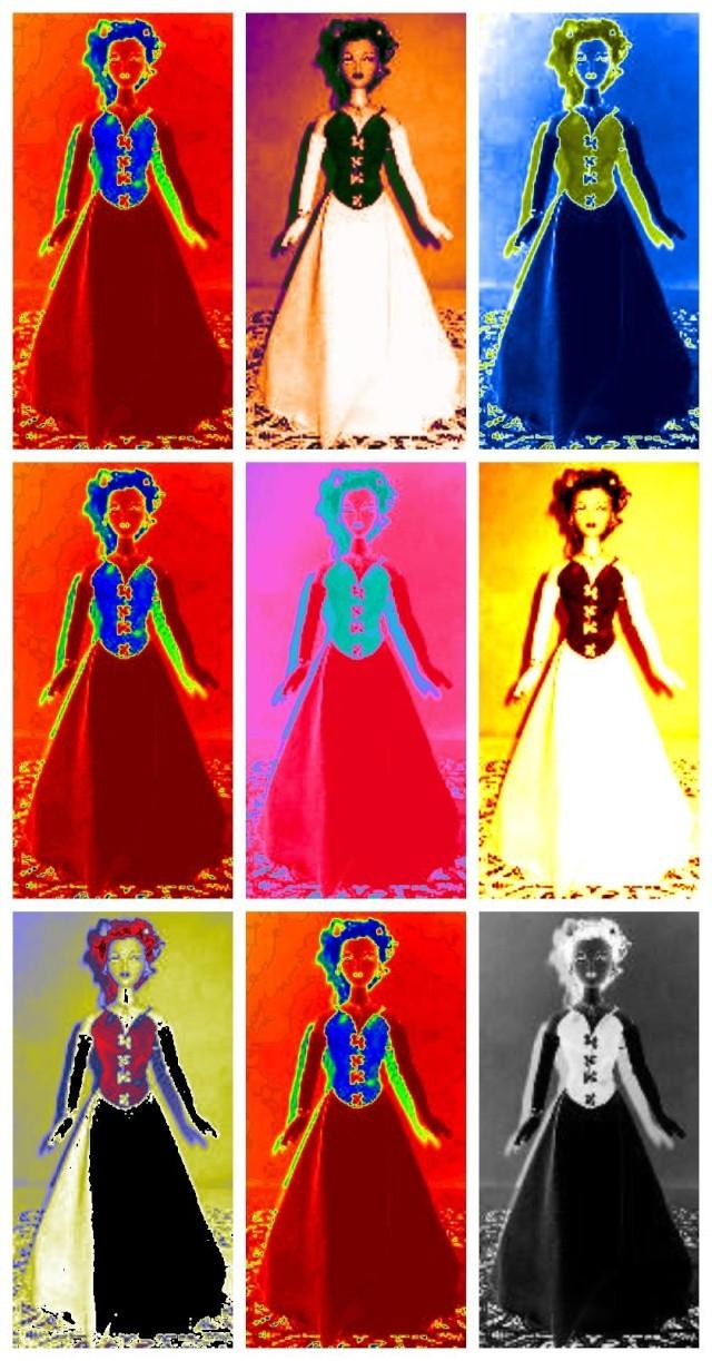 Gene en pop art Popart11