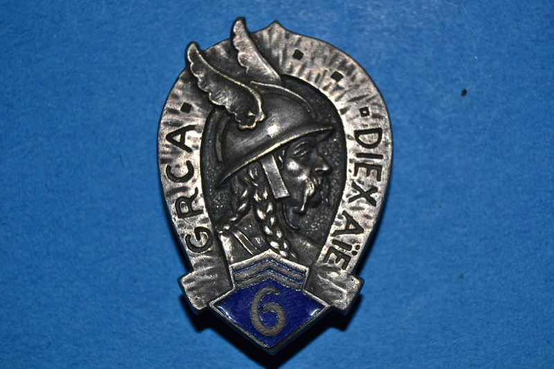 Insigne du 6° G.R.C.A.- ESC Nov 1 VENTE CLOTUREE. Dsc_1668