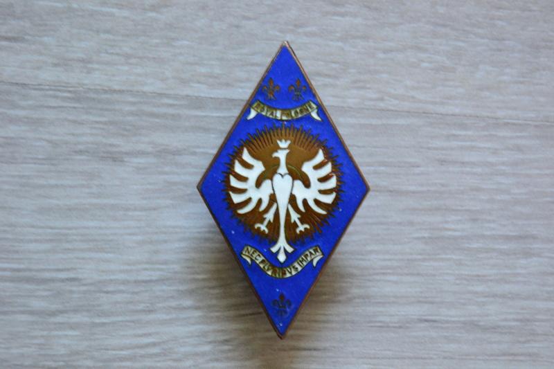 Insigne CAVALERIE FRANCE 1940: 5° Régiment de Cuirassiers. FEV3 - ESC VENTE CLOTUREE Dsc_1930