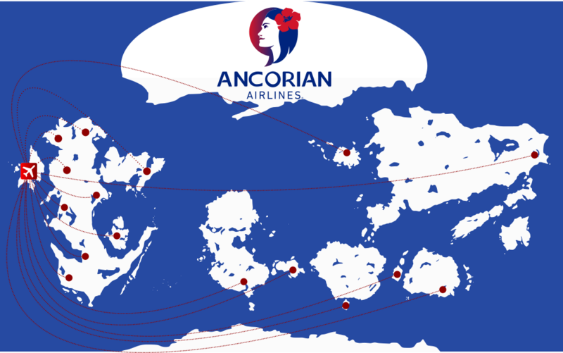 Ancorian Airlines  Carte_10