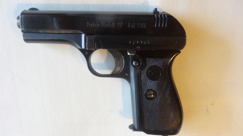 CZ27 contrat police allemande ww2 Dsc05411