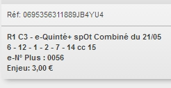 21/05/2018 --- SAINT-CLOUD --- R1C3 --- Mise 3 € => Gains 0 € Scree866