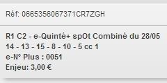 28/05/2018 --- SAINT-CLOUD --- R1C2 --- Mise 3 € => Gains 0 € Scree895