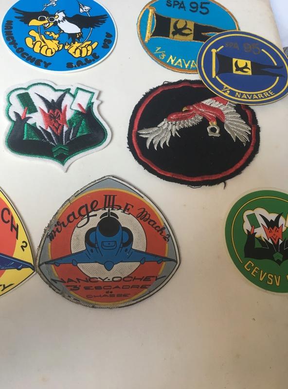 insignes/badges pilote FR escadron de chasse 1210