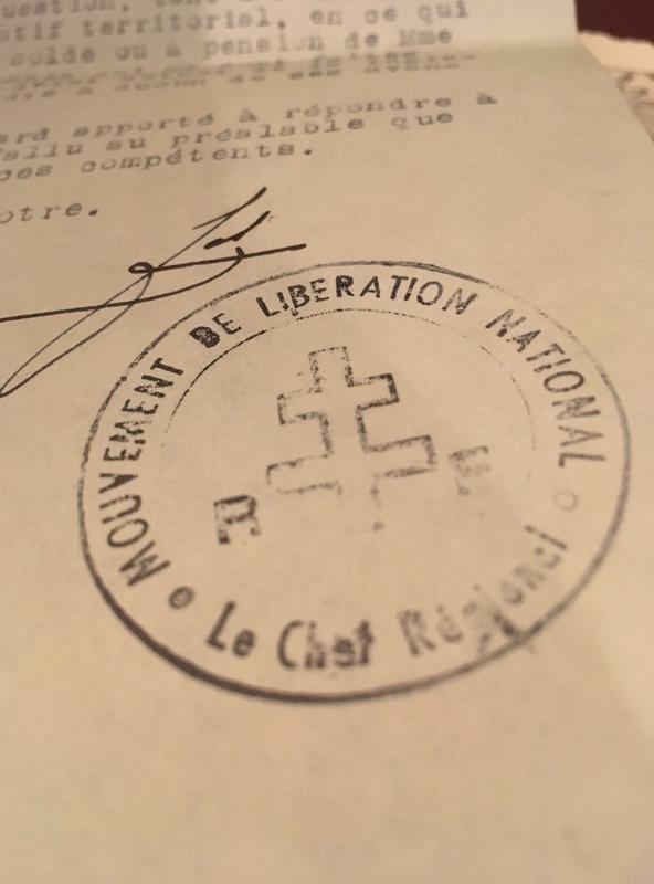 Demande estimation - resistant - chef armée secrète fusillé en 1944 R210
