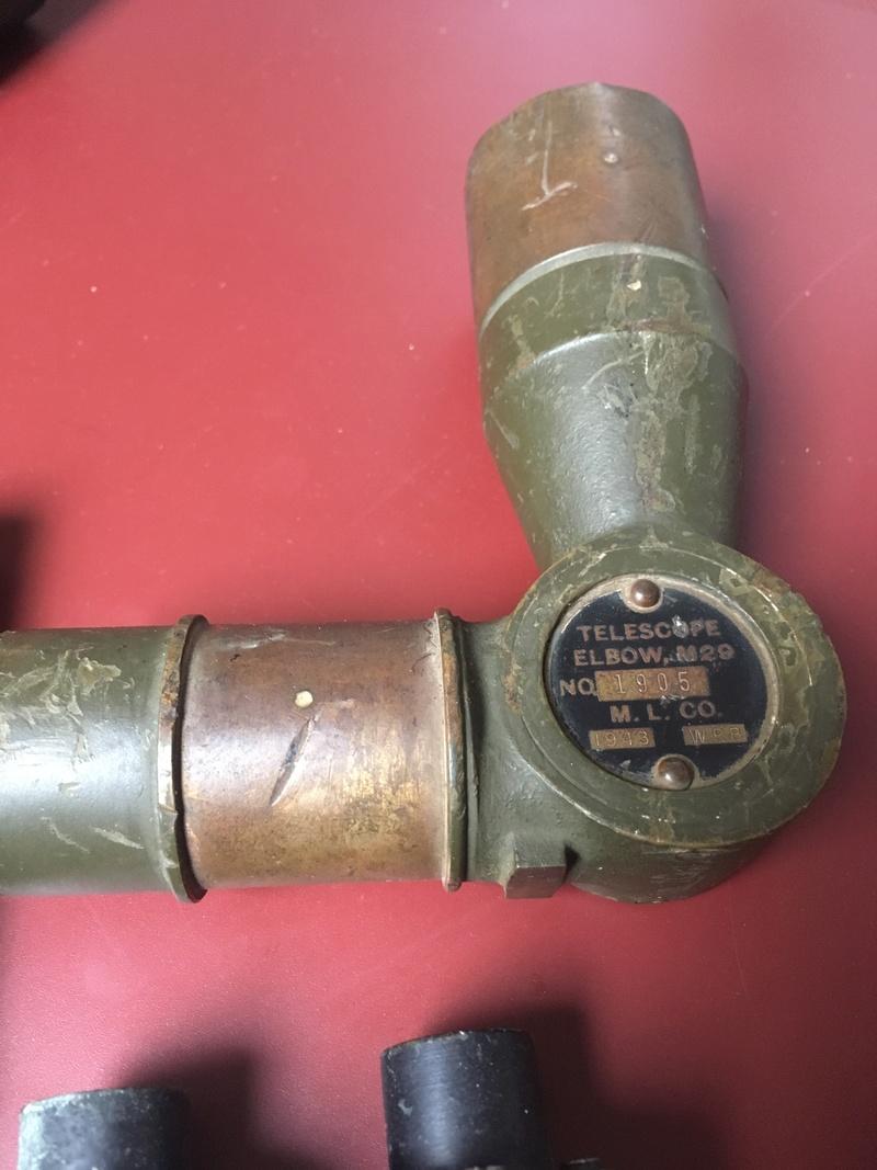 estimation Optiques char et mortier US Ww2 Tel210