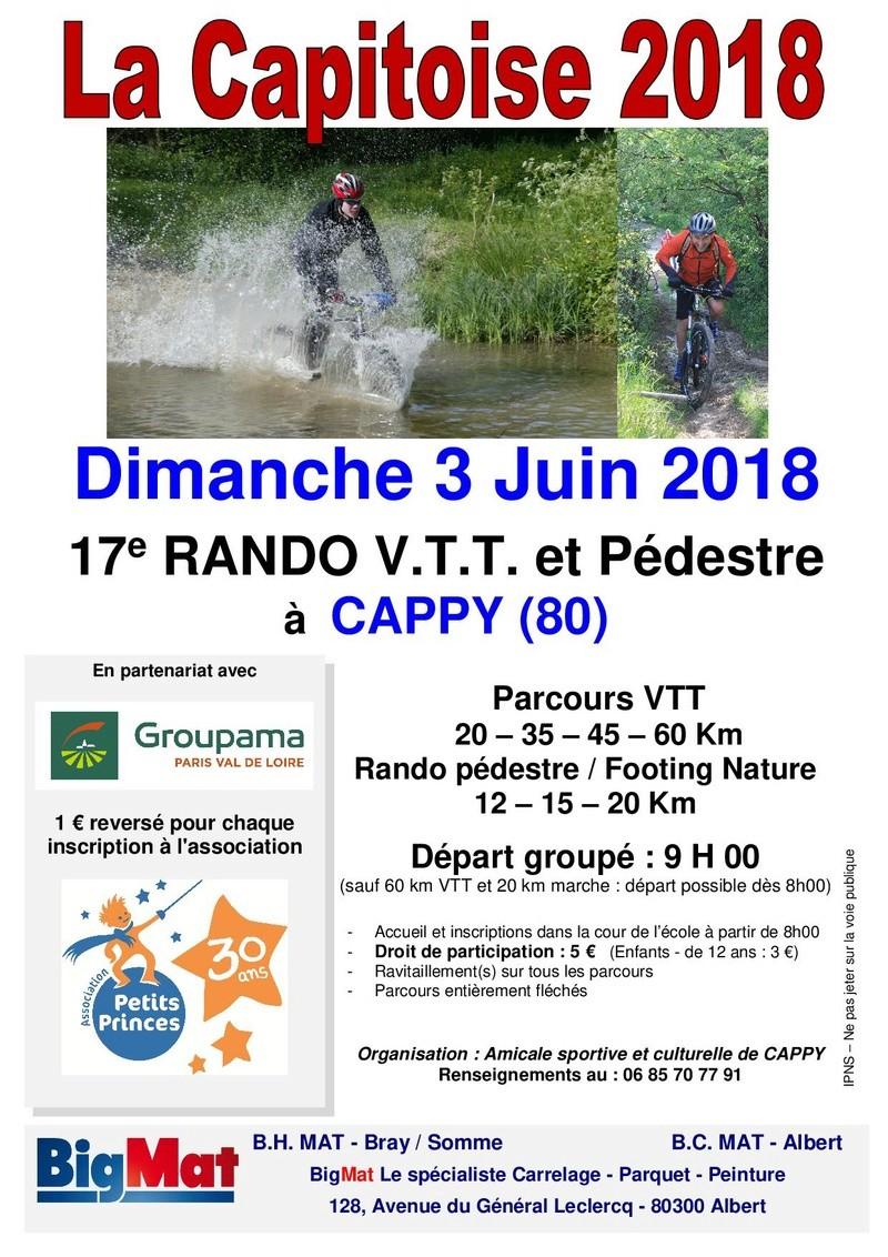 [80] - La Capitoise - CAPPY - Dimanche 3 juin 2018 Affich10