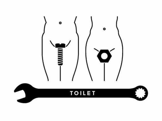 65те най-креативни обозначения за мъжка и женска тоалетна, уникално замислени! 82718110