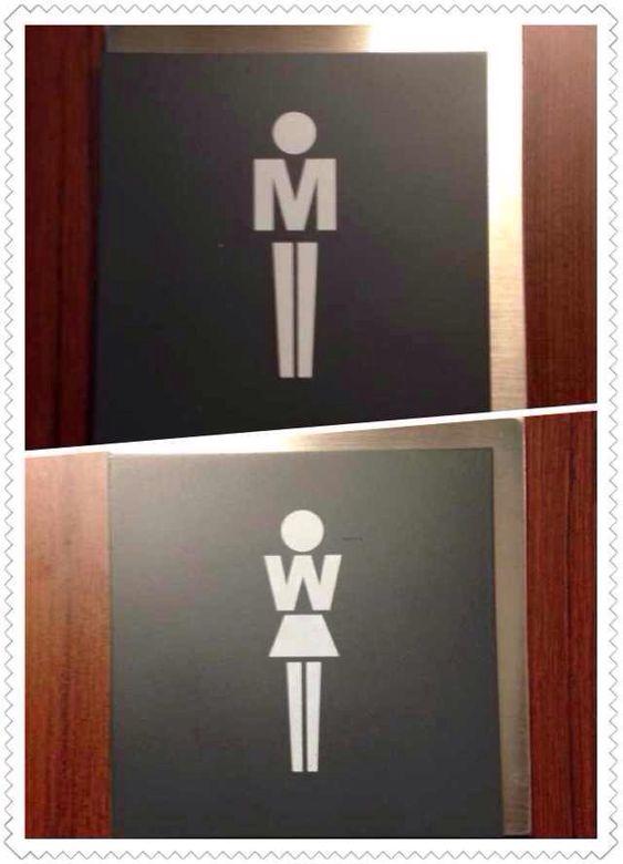 65те най-креативни обозначения за мъжка и женска тоалетна, уникално замислени! 927b1110