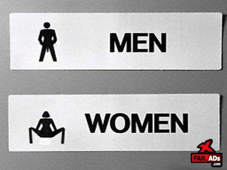 65те най-креативни обозначения за мъжка и женска тоалетна, уникално замислени! B5c18e10