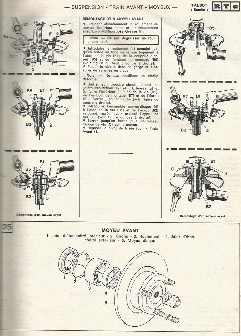 ROULEMENT AV Talbot16
