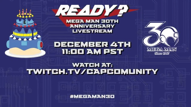 [Games] Nintendo of America retweets news about Mega Man 30th anniversary live stream Mega-m10