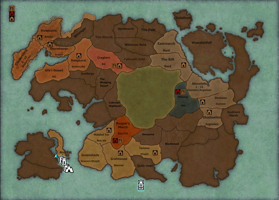 Carte de l'alpha Pur91s10