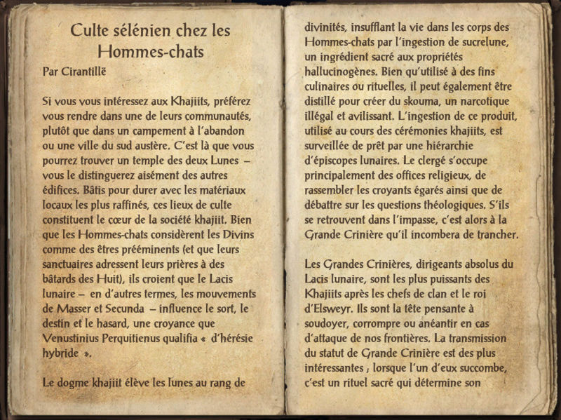 [Cultes khajiits] Culte sélénien chez les Hommes-chats Screen33