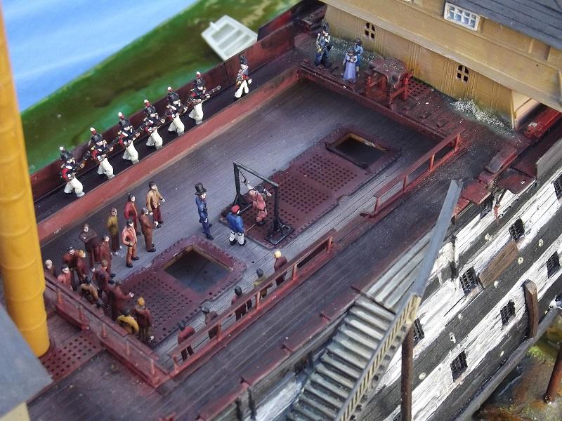 Ponton-Prison, honte anglaise INFAMY pendant le I° Empire [ HELLER 1/100° ] - Page 2 Dscf0537