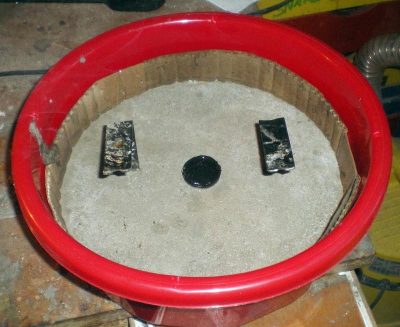 Fabrication d'un petit four pour fonte de l'aluminium Imgp0210