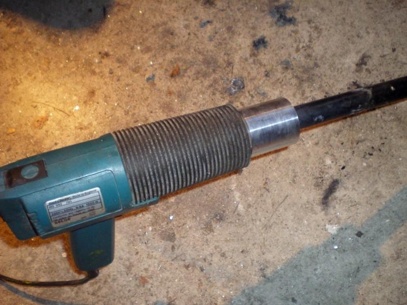 Fabrication d'un petit four pour fonte de l'aluminium Imgp0216