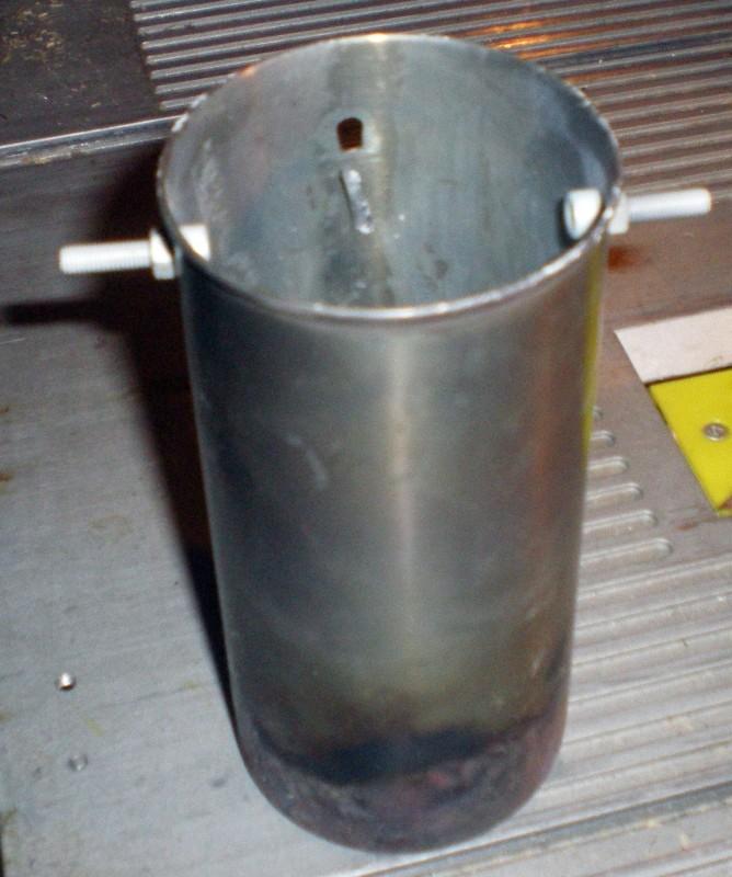 Fabrication d'un petit four pour fonte de l'aluminium Imgp0217