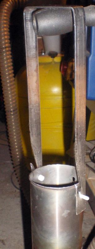 Fabrication d'un petit four pour fonte de l'aluminium Imgp0218