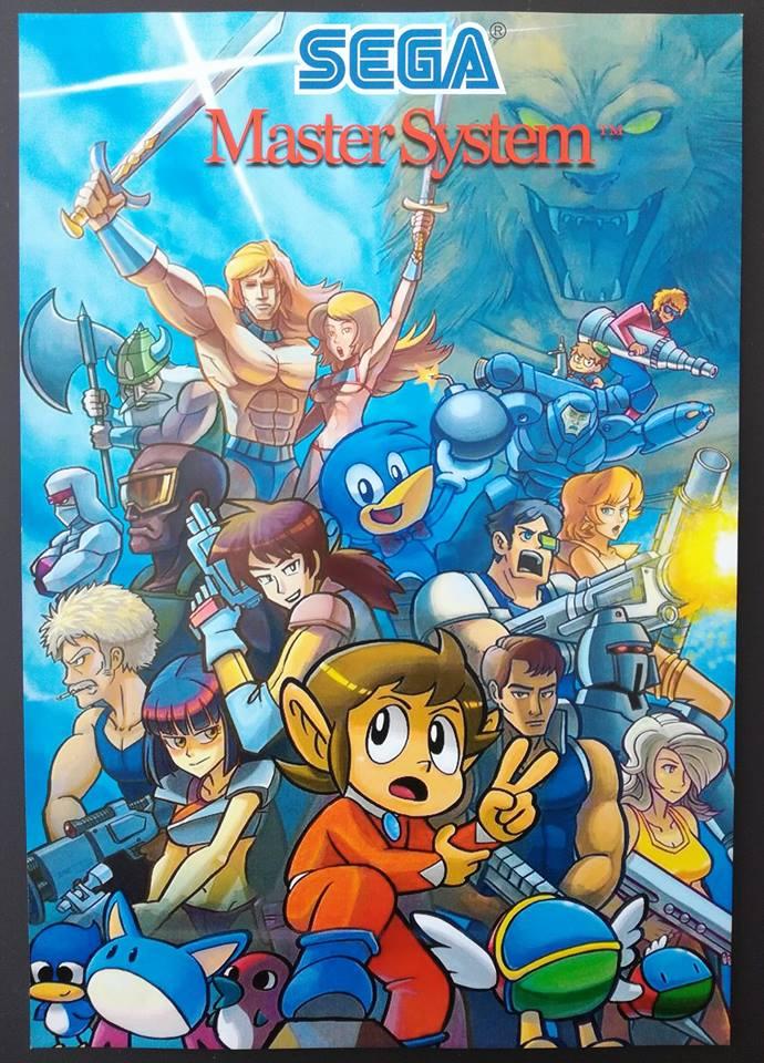Poster Sega Master System 24862310