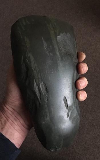 Polished stone axe Axe110