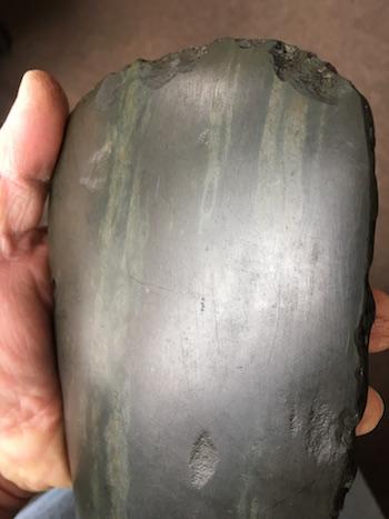 Polished stone axe Axe210
