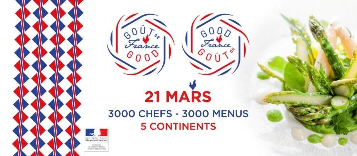 """21/03 - Goût de France au restaurant de """"l'hôtel Iglesia"""" 18021611"""