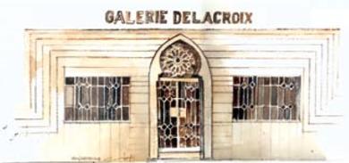 """16/03 au 30/03 - Exposition :  """"Galerie Delacroix""""  25 ans déjà  Galerie d'art de l'institut français  09 heures/12 heures  &  15 heures/18 heures Delacr14"""