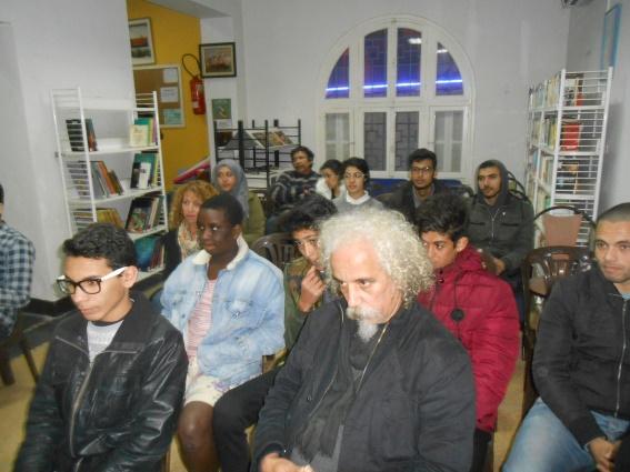Mostapha Daoudia : le tisseur des mots Dscn0311