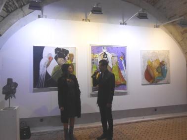 "Laïla IRAKI : un oeil vigilant... vernissage de l'exposition ""Regard perçant"" Dscn0910"
