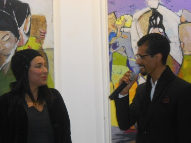 "Laïla IRAKI : un oeil vigilant... vernissage de l'exposition ""Regard perçant"" Dscn0911"