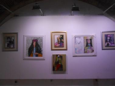 "Laïla IRAKI : un oeil vigilant... vernissage de l'exposition ""Regard perçant"" Dscn0912"