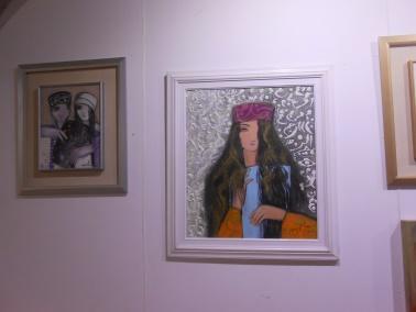 "Laïla IRAKI : un oeil vigilant... vernissage de l'exposition ""Regard perçant"" Dscn0914"