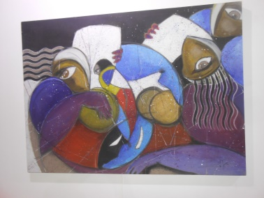 "Laïla IRAKI : un oeil vigilant... vernissage de l'exposition ""Regard perçant"" Dscn0915"