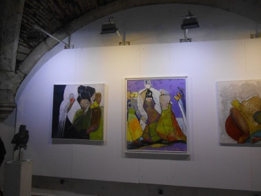 "Laïla IRAKI : un oeil vigilant... vernissage de l'exposition ""Regard perçant"" Dscn0916"
