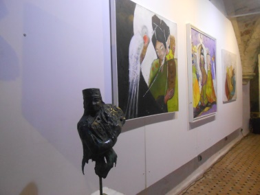 "Laïla IRAKI : un oeil vigilant... vernissage de l'exposition ""Regard perçant"" Dscn0917"