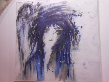 "Laïla IRAKI : un oeil vigilant... vernissage de l'exposition ""Regard perçant"" Dscn0918"