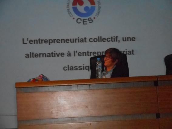 Elisabeth Bosc & Saïd Ramli : la coopérative d'entreprise entre utopie et réalité Dscn8014