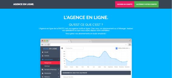 RADEEJ : l'agence et le paiement en ligne Radeej11