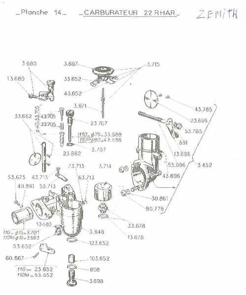 carburateur - carburateur W112 Carbu210