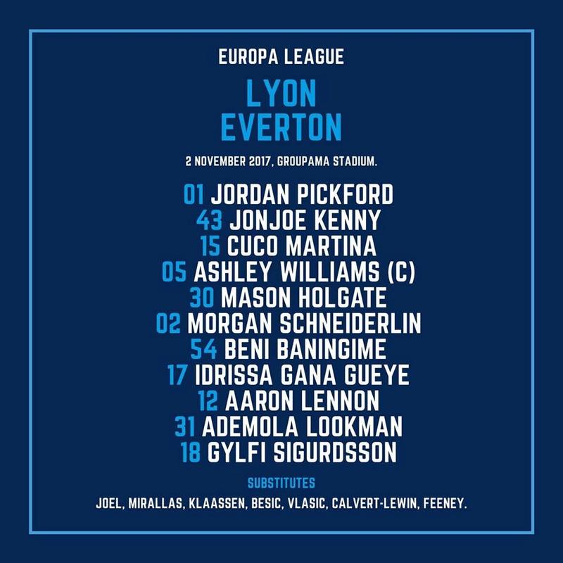 Olympique Lyonnais v Everton - Page 2 23167810
