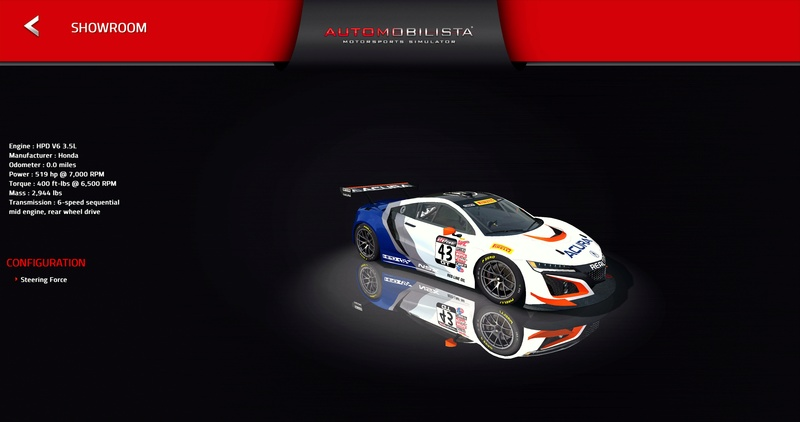 (RELEASE) Acura NSX GT3 - Page 3 20180210
