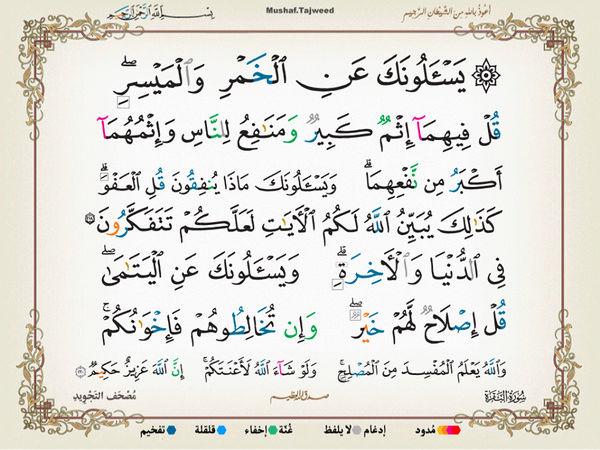 الآية 206 من سورة البقرة الكريمة المباركة Oa_20610